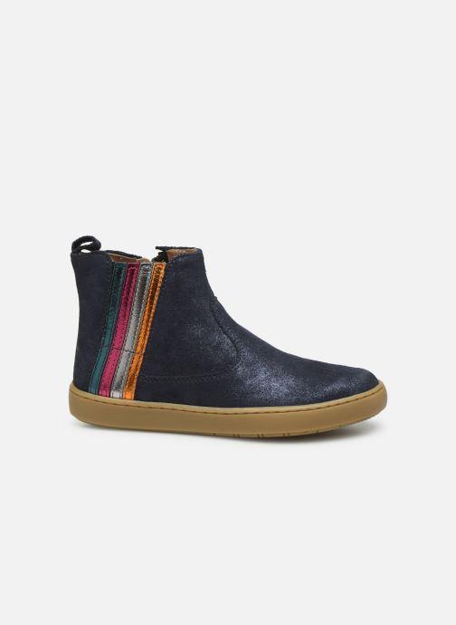 Stiefeletten & Boots Shoo Pom Play Stripes blau ansicht von hinten
