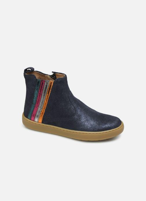 Bottines et boots Shoo Pom Play Stripes Bleu vue détail/paire
