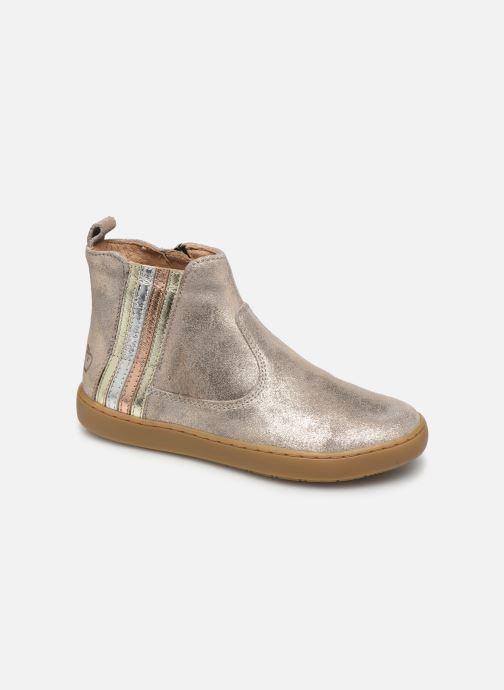 Bottines et boots Shoo Pom Play Stripes Beige vue détail/paire