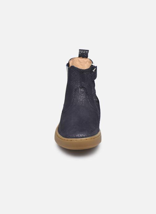 Stiefeletten & Boots Shoo Pom Play Stripes blau schuhe getragen