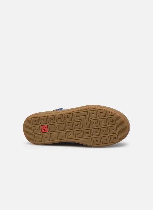 Stiefeletten & Boots Shoo Pom Play Stripes blau ansicht von oben