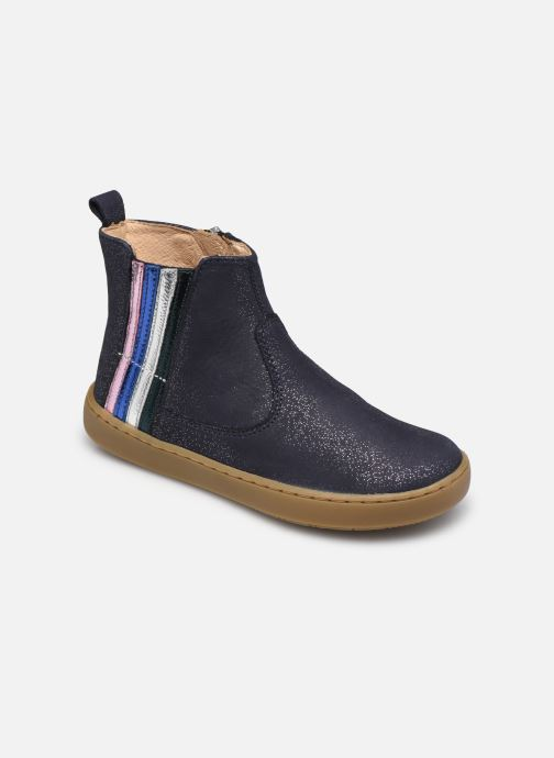 Stiefeletten & Boots Shoo Pom Play Stripes blau detaillierte ansicht/modell