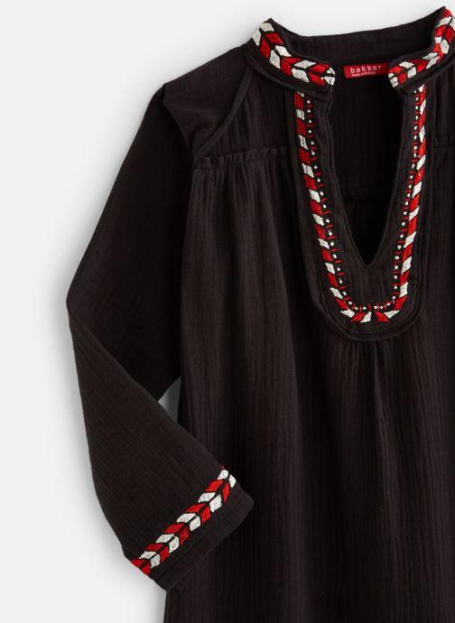 Vêtements Bakker Made With Love Dress Kurta Embroidery Noir vue portées chaussures