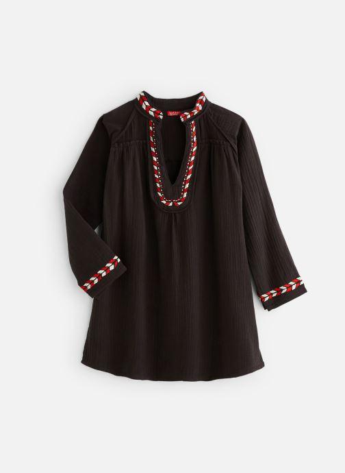 Kleding Bakker Made With Love Dress Kurta Embroidery Zwart detail
