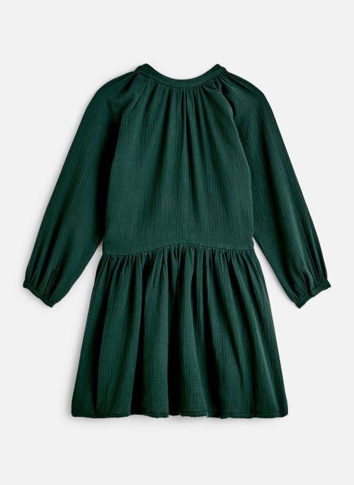 Kleding Bakker Made With Love Dress Anis Short Cotton Muslin Groen onder