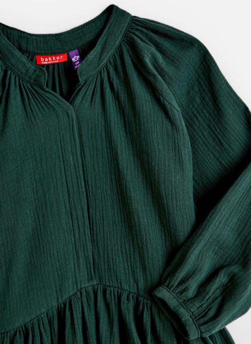 Kleding Bakker Made With Love Dress Anis Short Cotton Muslin Groen model