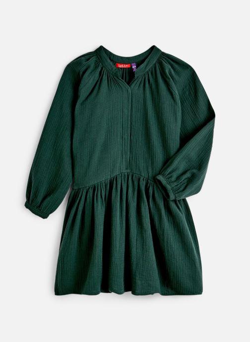 Kleding Bakker Made With Love Dress Anis Short Cotton Muslin Groen detail