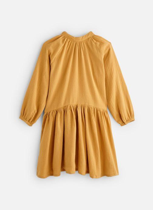 Vêtements Bakker Made With Love Dress Anis Short Cotton Muslin Jaune vue bas / vue portée sac