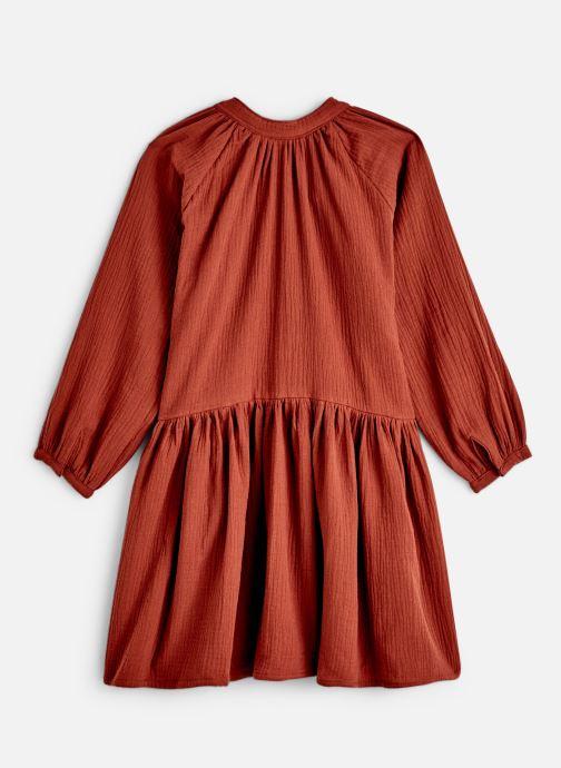 Kleding Bakker Made With Love Dress Anis Short Cotton Muslin Oranje onder