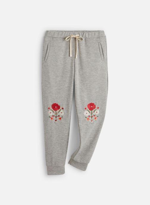 Vêtements Bakker Made With Love Pantalon Jogging Brode Gris vue détail/paire