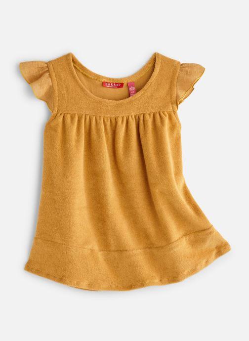 Vêtements Bakker Made With Love Dress Bella Jaune vue détail/paire