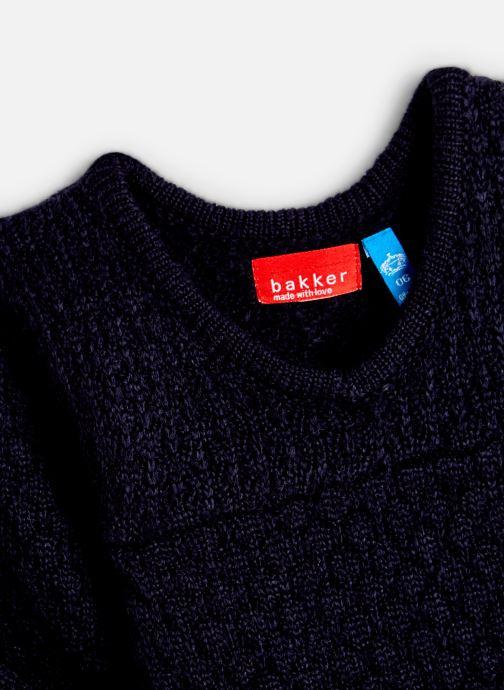Vêtements Bakker Made With Love Dress Bella long sleeves Bleu vue portées chaussures