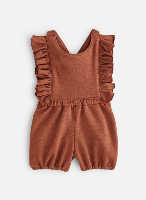 Vêtements Bakker Made With Love Romper Pepita Froufrou Marron vue détail/paire