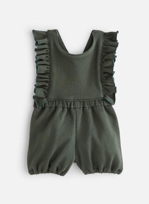 Vêtements Bakker Made With Love Romper Pepita Froufrou Vert vue détail/paire