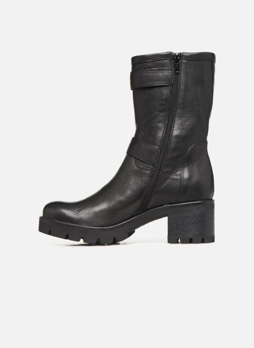 Bottines et boots Manas CARNIA  MICHELLE 10140M Noir vue face