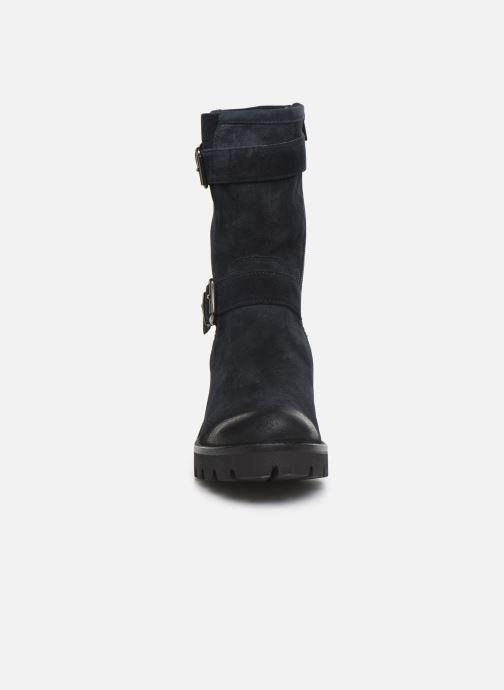 Bottines et boots Manas CARNIA  EVENT 10140M Bleu vue portées chaussures