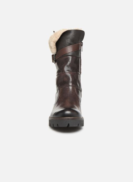 Ankle boots Manas CARNIA 10142M Brown model view