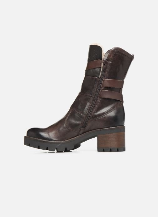 Ankle boots Manas CARNIA 10142M Brown front view