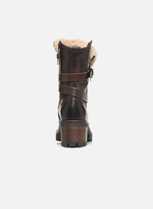 Ankle boots Manas CARNIA 10142M Brown view from the right