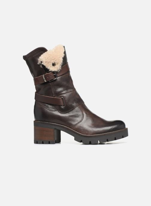 Ankle boots Manas CARNIA 10142M Brown back view