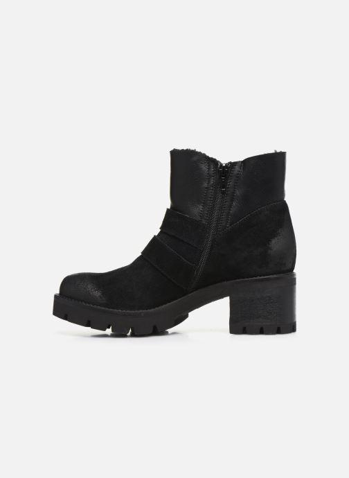 Bottines et boots Manas CARNIA 10144M Noir vue face