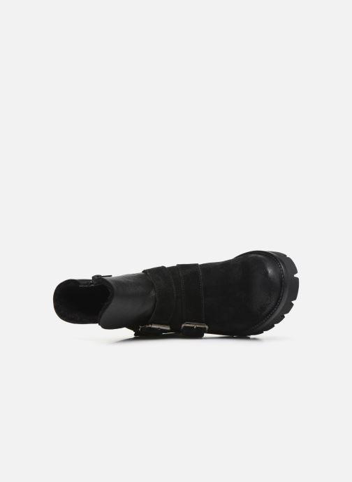 Bottines et boots Manas CARNIA 10144M Noir vue gauche
