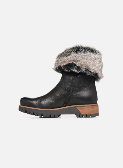 Bottines et boots Manas ASPEN 10184M Noir vue face