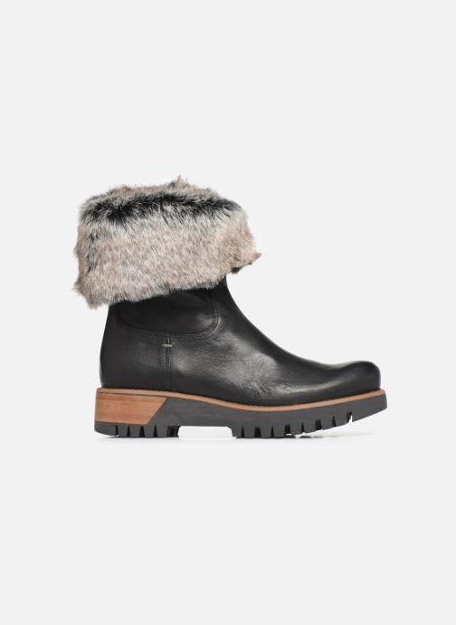 Bottines et boots Manas ASPEN 10184M Noir vue derrière