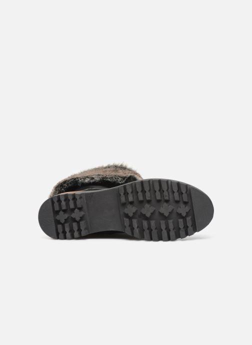 Bottines et boots Manas ASPEN 10184M Noir vue haut