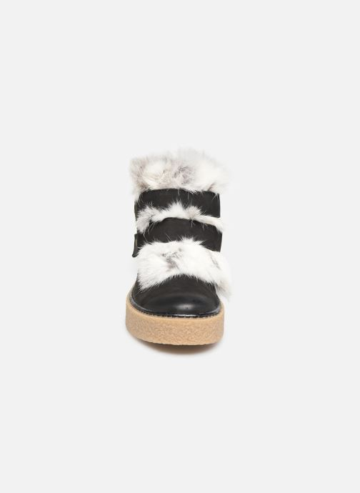 Bottines et boots Manas MOLVENO 10200M Noir vue portées chaussures