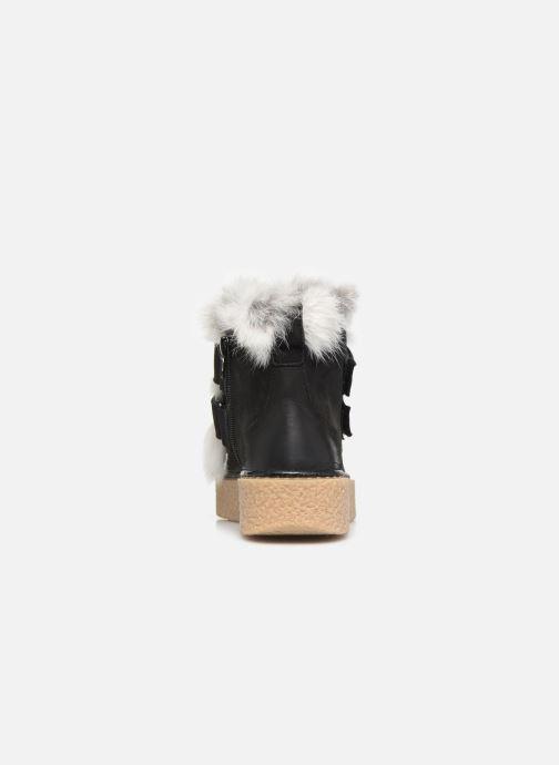 Bottines et boots Manas MOLVENO 10200M Noir vue droite