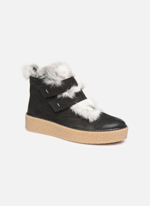 Bottines et boots Manas MOLVENO 10200M Noir vue détail/paire
