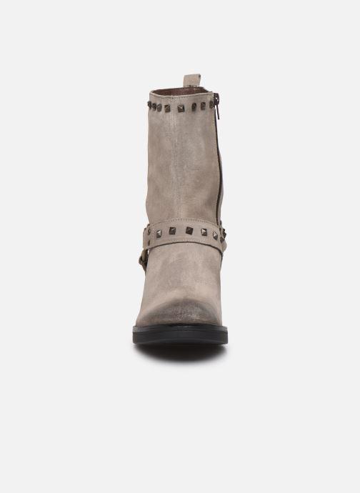 Stiefeletten & Boots Manas MOSO 10242M grau schuhe getragen