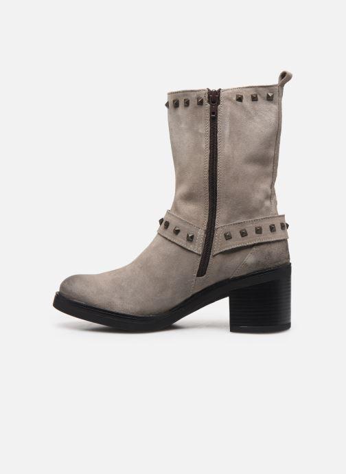 Stiefeletten & Boots Manas MOSO 10242M grau ansicht von vorne