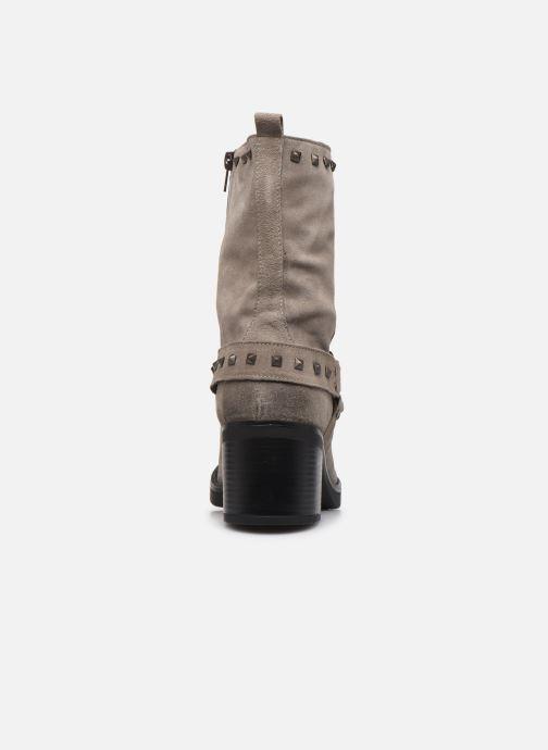 Stiefeletten & Boots Manas MOSO 10242M grau ansicht von rechts
