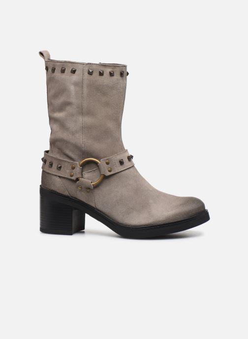 Stiefeletten & Boots Manas MOSO 10242M grau ansicht von hinten