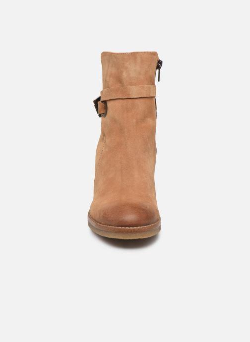 Bottines et boots Manas CANAZEI 10304M Marron vue portées chaussures