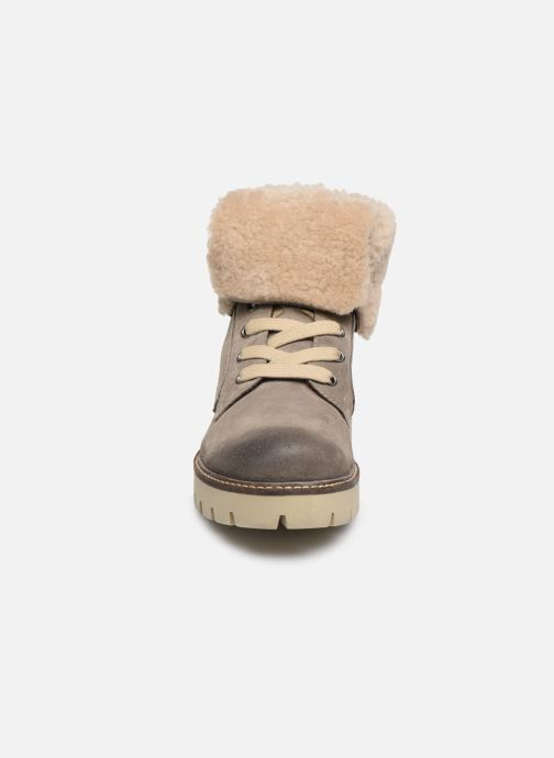 Stiefeletten & Boots Manas BOLSANO 10100M grau schuhe getragen