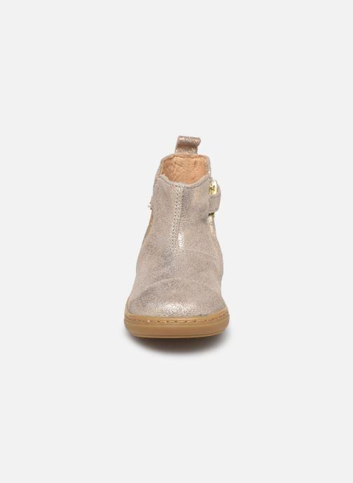 Bottines et boots Shoo Pom Bouba Love Beige vue portées chaussures