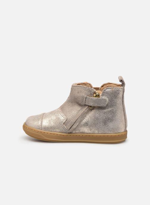 Boots en enkellaarsjes Shoo Pom Bouba Love Beige voorkant