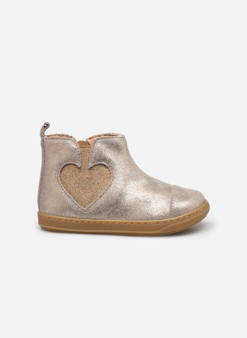 Boots en enkellaarsjes Shoo Pom Bouba Love Beige achterkant