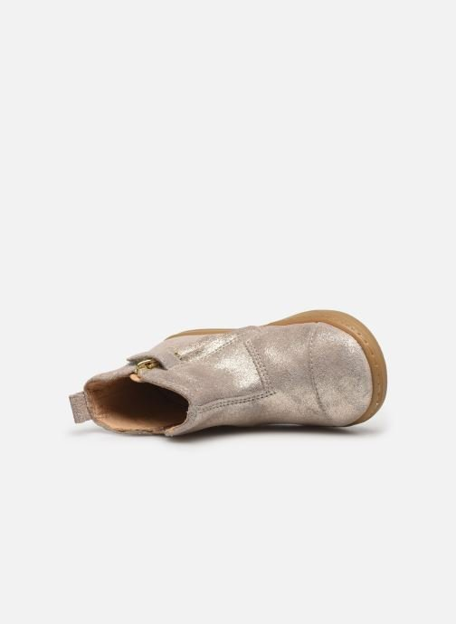Bottines et boots Shoo Pom Bouba Love Beige vue gauche