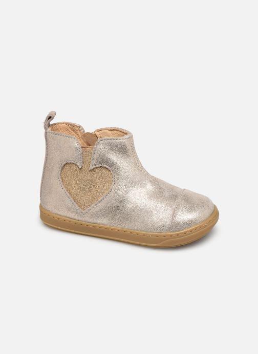 Bottines et boots Shoo Pom Bouba Love Beige vue détail/paire