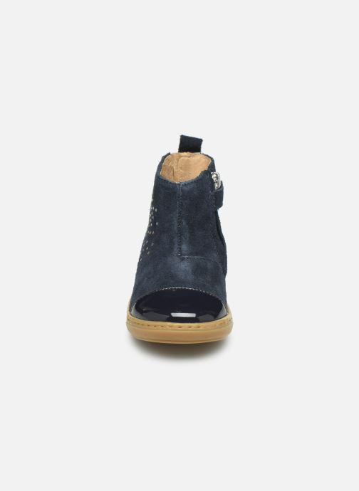 Bottines et boots Shoo Pom Bouba Nails Bleu vue portées chaussures