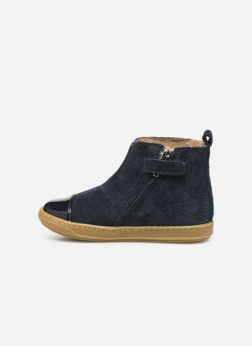 Bottines et boots Shoo Pom Bouba Nails Bleu vue face