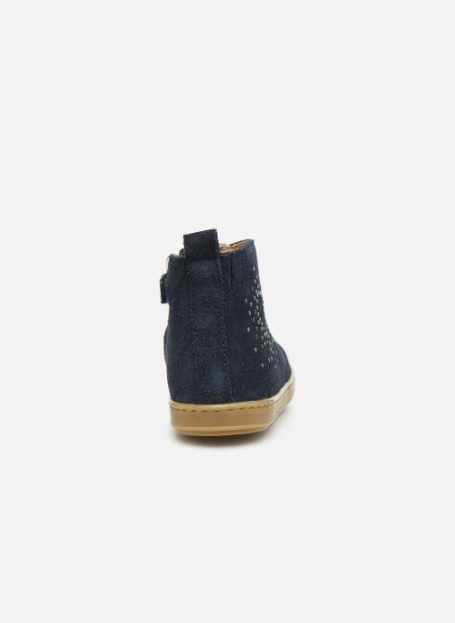 Bottines et boots Shoo Pom Bouba Nails Bleu vue droite
