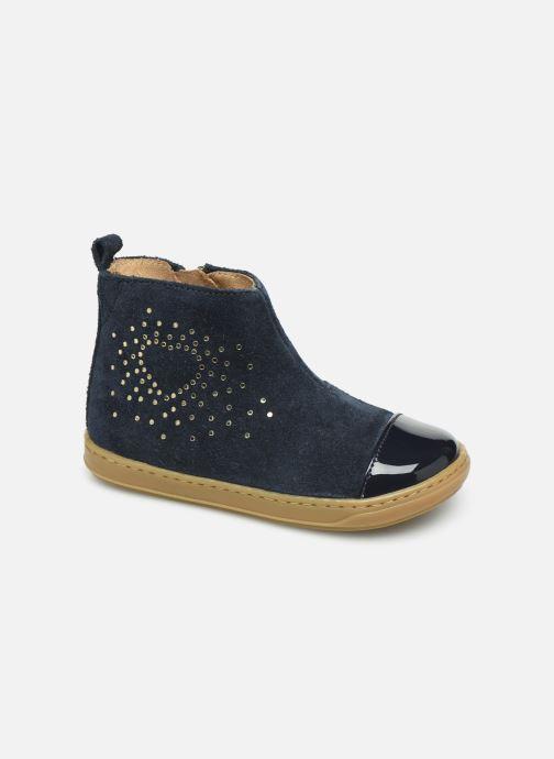 Bottines et boots Shoo Pom Bouba Nails Bleu vue détail/paire