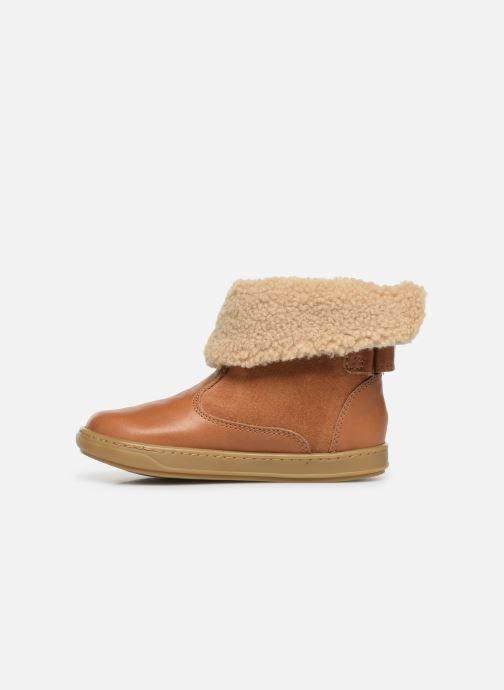 Stiefeletten & Boots Shoo Pom Bouba Fur Boots braun ansicht von vorne
