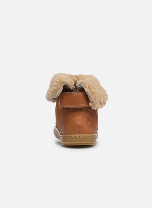 Stiefeletten & Boots Shoo Pom Bouba Fur Boots braun ansicht von rechts