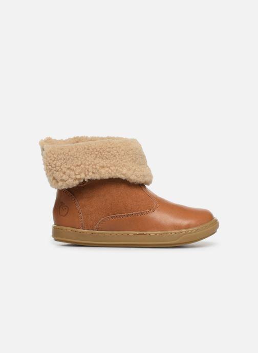 Bottines et boots Shoo Pom Bouba Fur Boots Marron vue derrière